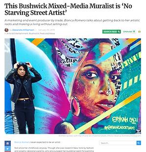 Bianca Romero BK Reader artist interview