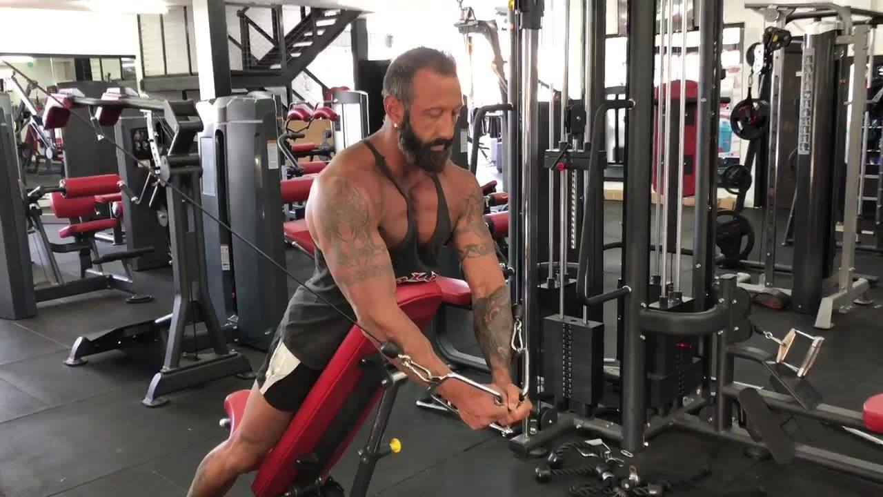 Try cable flys whilst leaning forward on the incline bench in your next chest workout.