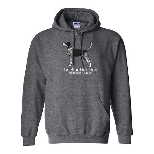 HOODY -Berkshires BlueTick Dog