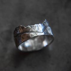 "Silberner Ring ""Adventure"""