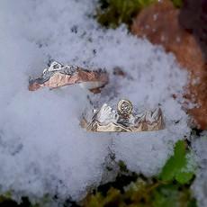 Verlobungsringe Silber, Rotgold, Gelbgold & Diamant