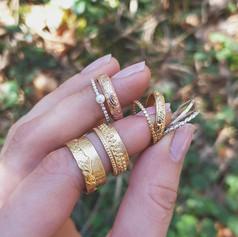 Ehe- und Verlobungsringe in Silber, Gold und Rotgold