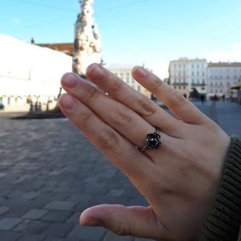 Rosen-Ring von Lisa