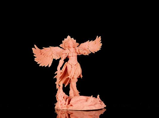 Longer Orange 4K 3D Printer Printing Model