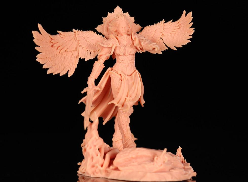 Models printed by LONGER Orange 4K