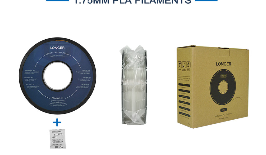 LONGER PLA Filament 1KG