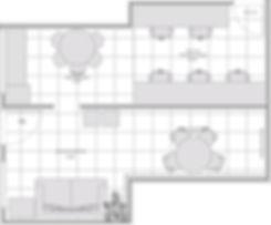 planta baixa Antiga Sede Projete-se Arquitetura e Interiores