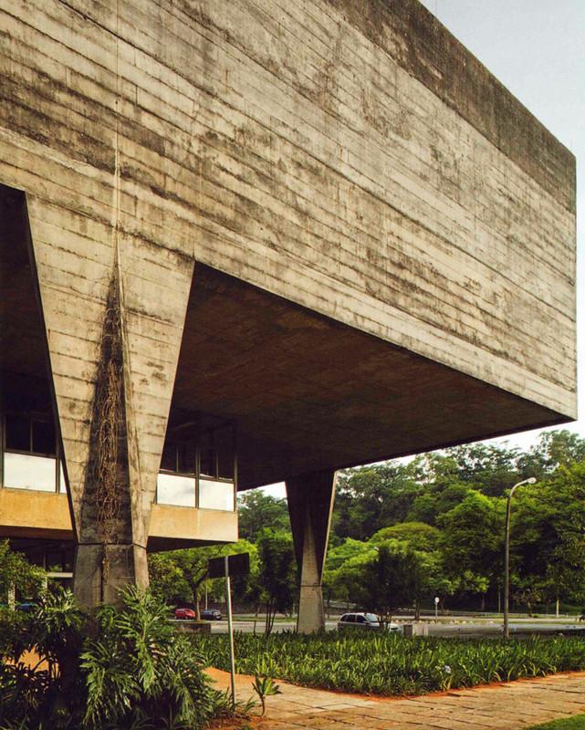 Faculdade de Arquitetura e Urbanismo (FAU) – USP, São Paulo, Brasil, 1969 (João Batista Vilanova Artigas e Carlos Cascaldi)