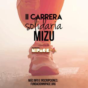 Resultados II Carrera solidaria Mizu a favor de Nipace