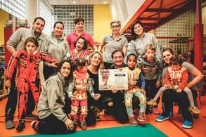 La II Carrera solidaria Mizu recauda  casi 6.000 euros para Fundación Nipace