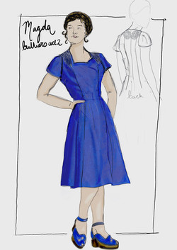 Magda Bulliers Dress - Copy