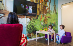 Wartebereich für Kinder