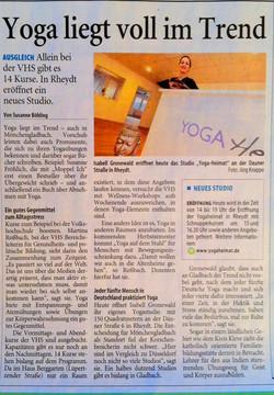 Westdeutsche Zeitung 14.1.20