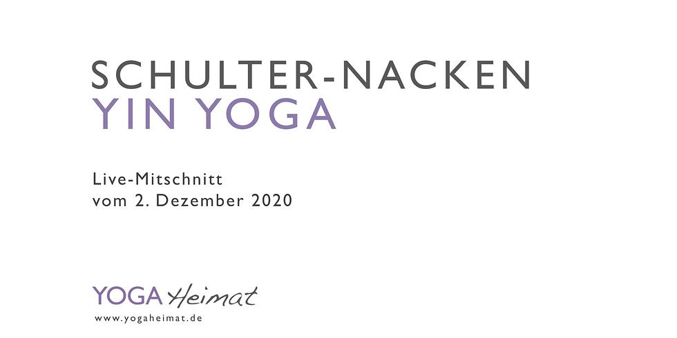 Schultern-Nacken Yin Yoga