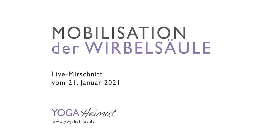 Mobilisation der Wirbelsäule