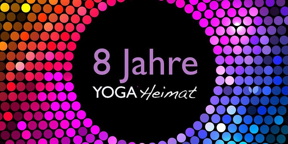 YogaHeimat Birthday Party