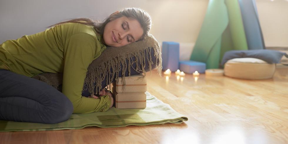 Online-Workshop: Yin Yoga für einen gesunden Rücken