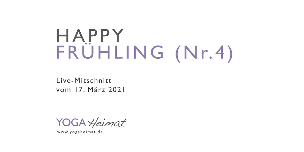 Happy Frühling - Nr. 4