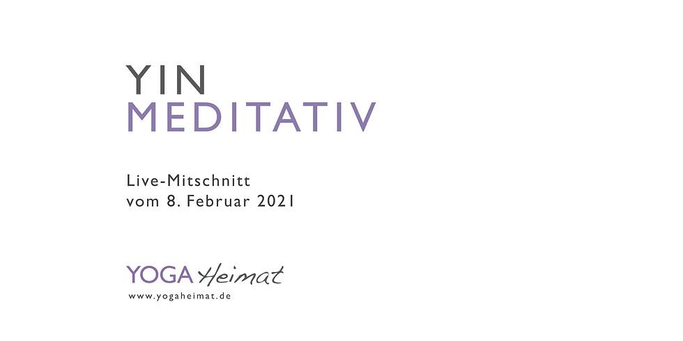 Yin meditativ