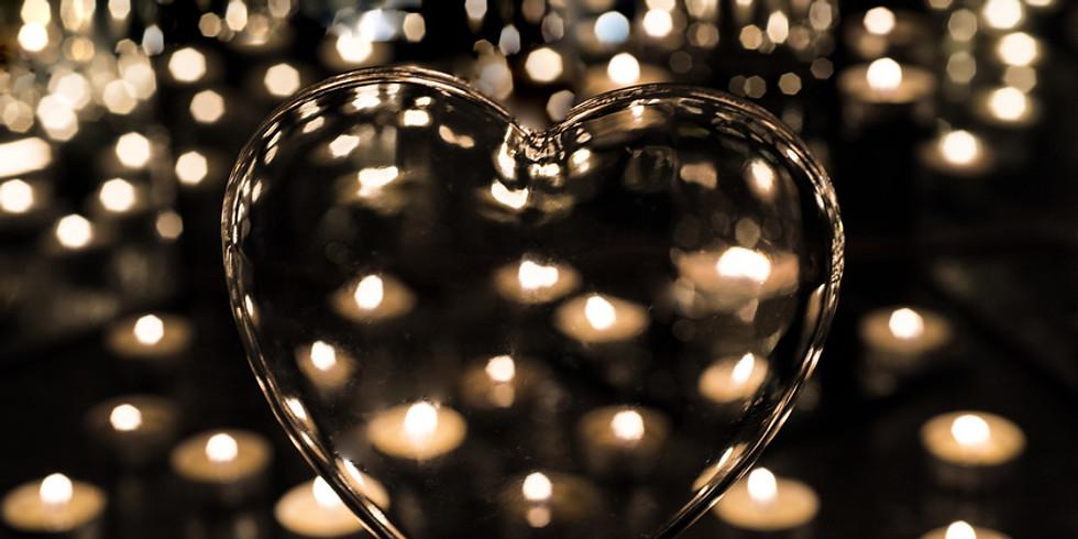 Candle Light Heart Flow