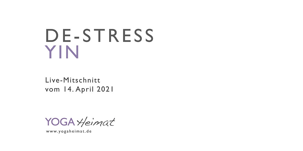 De-Stress Yin