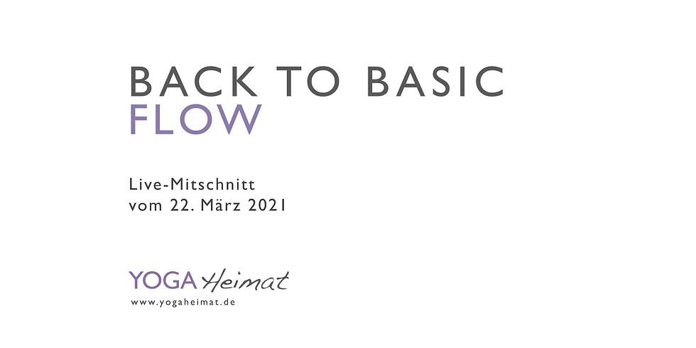 Back to Basic Flow
