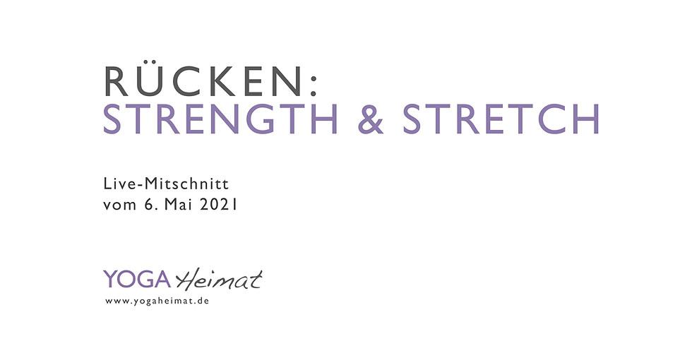 Rücken: Strength & Stretch