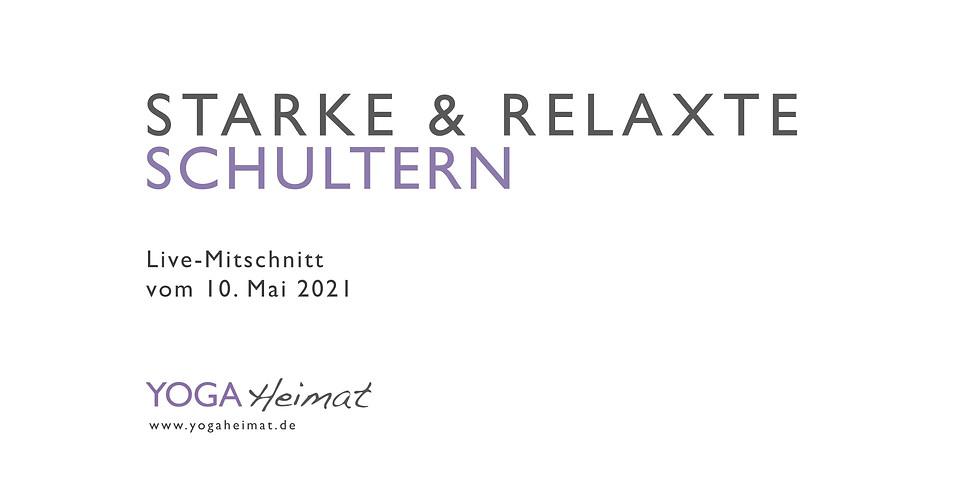 Starke & relaxte Schultern