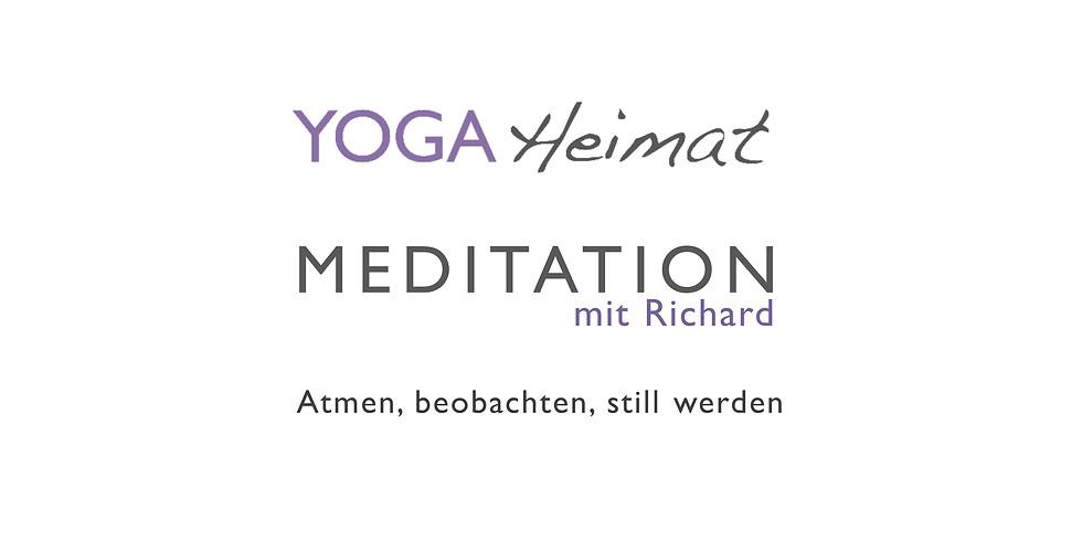 Meditation mit Richard: Atmen, beobachten, still werden