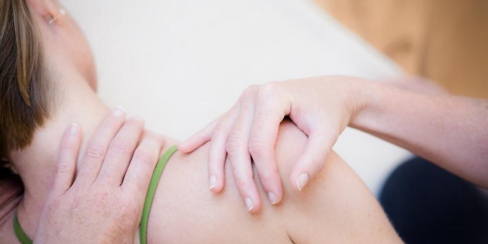 Entspannter Nacken, weiche Schultern