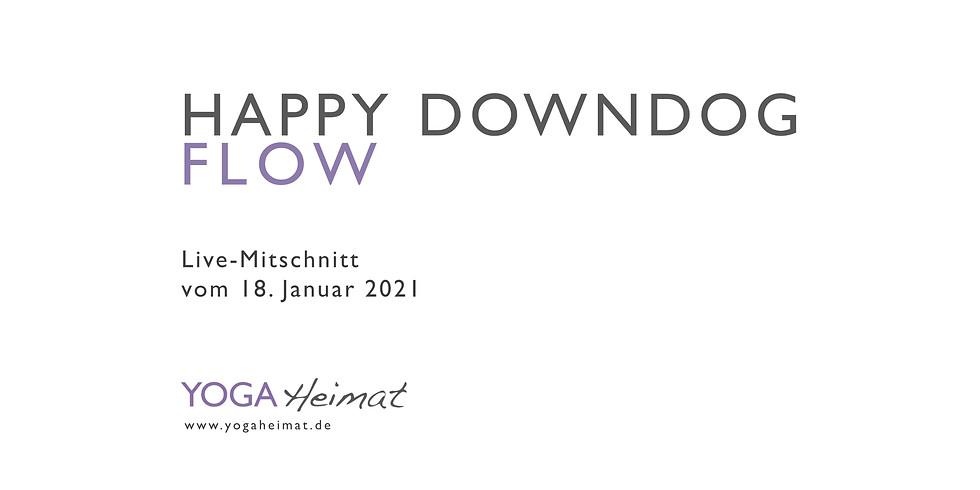 Happy DownDog Flow
