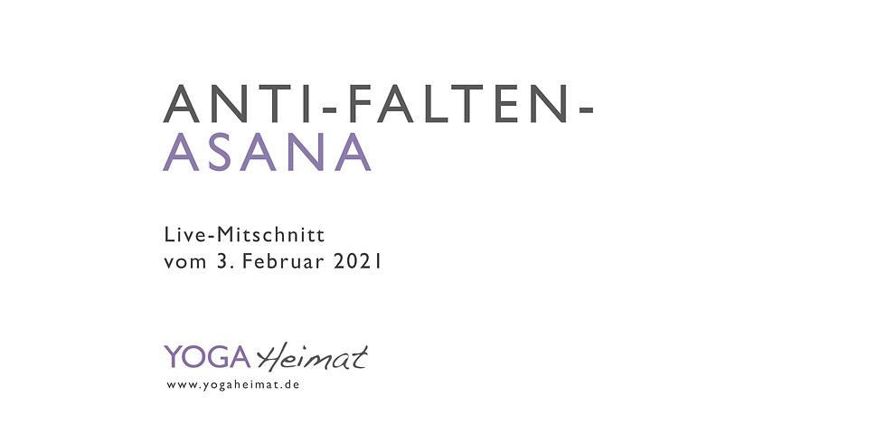 Anti-Falten-Asana