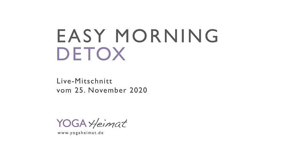 Easy Morning Detox