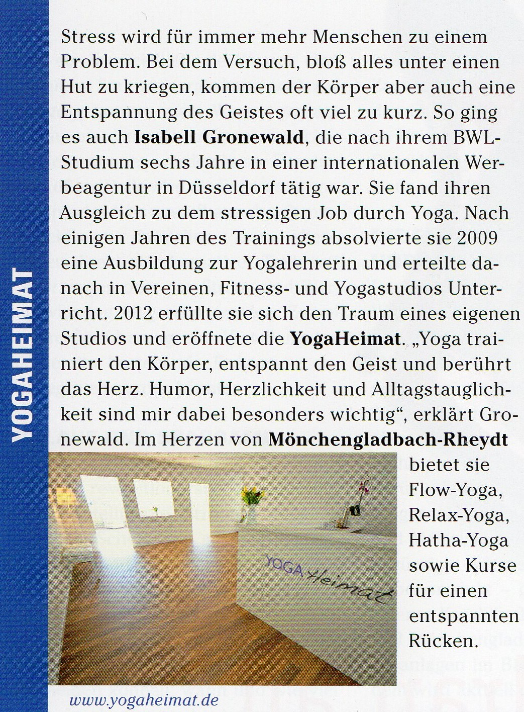 TOP Magazin / April 2012