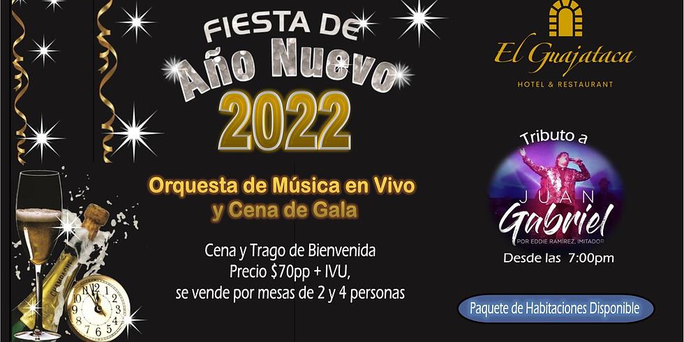 DESPEDIDA 2021 | TRIBUTO A JUAN GABRIEL | 31 de Diciembre