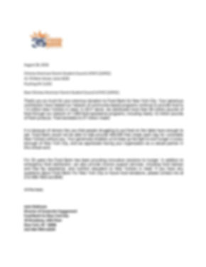 Donor Recognition Letter (Chinese  Ameri