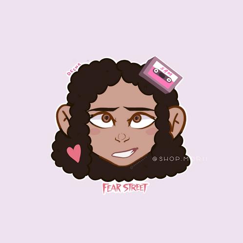 Deena Fear Street Sticker (@soeetoons)