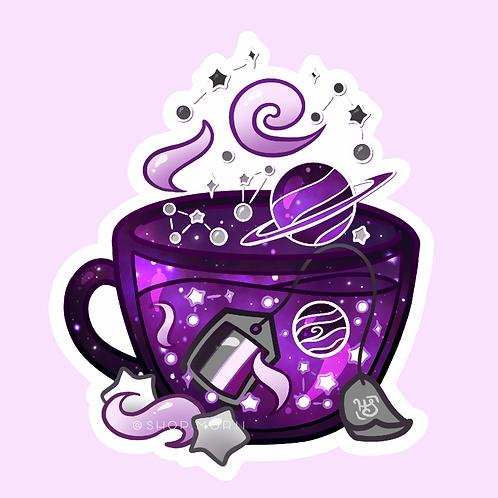 Ace Flag Teacup Sticker (@heysoleilart)
