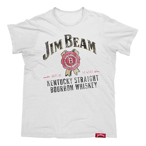 JIM BEAM OFFICIAL LICENSED CONTEMPORARY T SHIRT