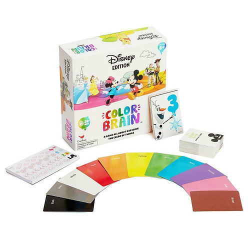 DISNEY COLOUR BRAIN BOARD GAME CARDINAL SPINMASTER AGES 8+