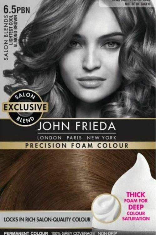 JOHN FRIEDA LIGHTEST COPPER BROWN HAIR COLOUR 6.5C