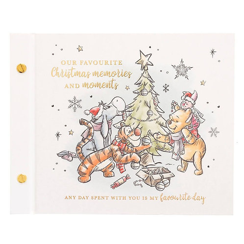 DISNEY WINNIE THE POOH PHOTO ALBUM OUR FAVOURITE CHRISTMAS MEMORIES AND MOMENTS
