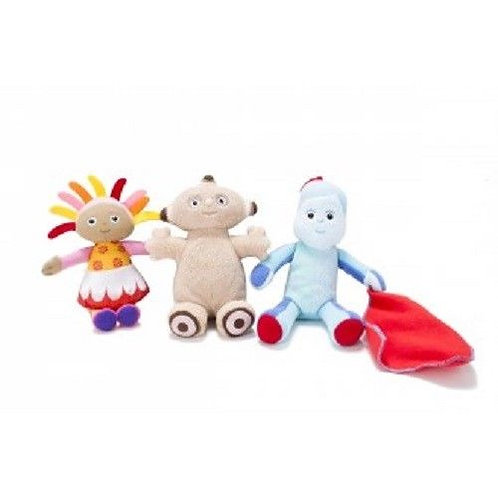 IN THE NIGHT GARDEN MINI SOFT TOYS 20CM IGGLE PIGGLE, MAKKA PAKKA, UPSY DAISY