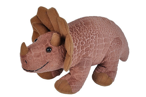WILD REPUBLIC BABY TRICERATOPS 30CMS LONG