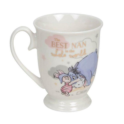 DISNEY EEYORE AND PIGLET BEST NAN IN THE WHOLE WORLD MOTHERS DAY WIDDOP & CO