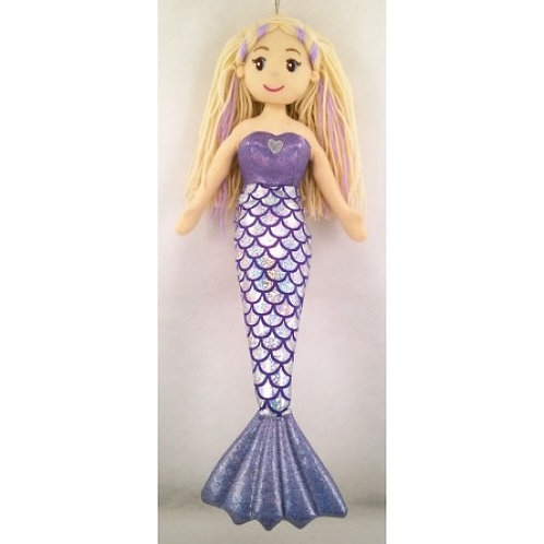 COTTON CANDY LARGE MERMAID ARISTA WITH  BLOND HAIR 70CM 27 INCH