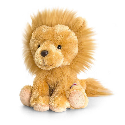 PIPPINS CURLY THE LION BY KEEL TOYS KORIMCO 14CMS