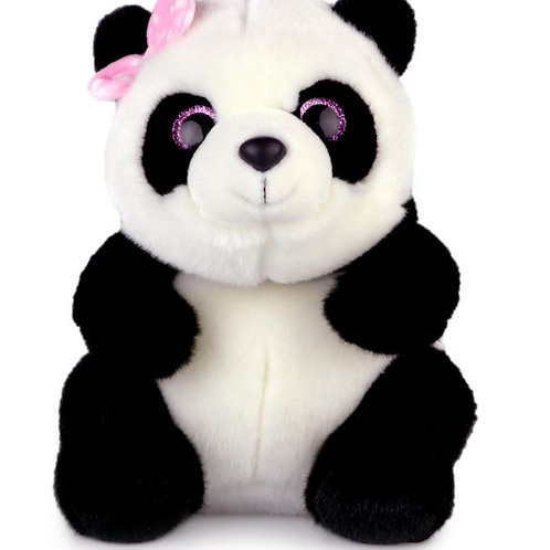 AURORA WORLD KORIMCO LIN LIN SPARKLE EYES PINK BOW 25CM