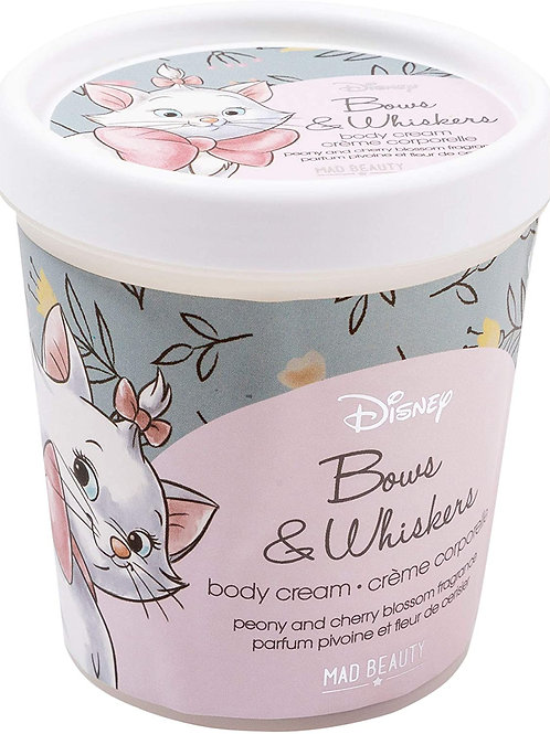 DISNEY ARISTOCATS MARIE BOWS & WHISKERS BODY CREAM FROM MAD BEAUTY 240G