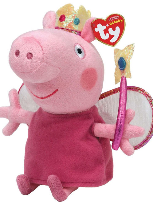 TY BEANIE BABIES PRINCESS PEPPA FROM PEPPA THE PIG